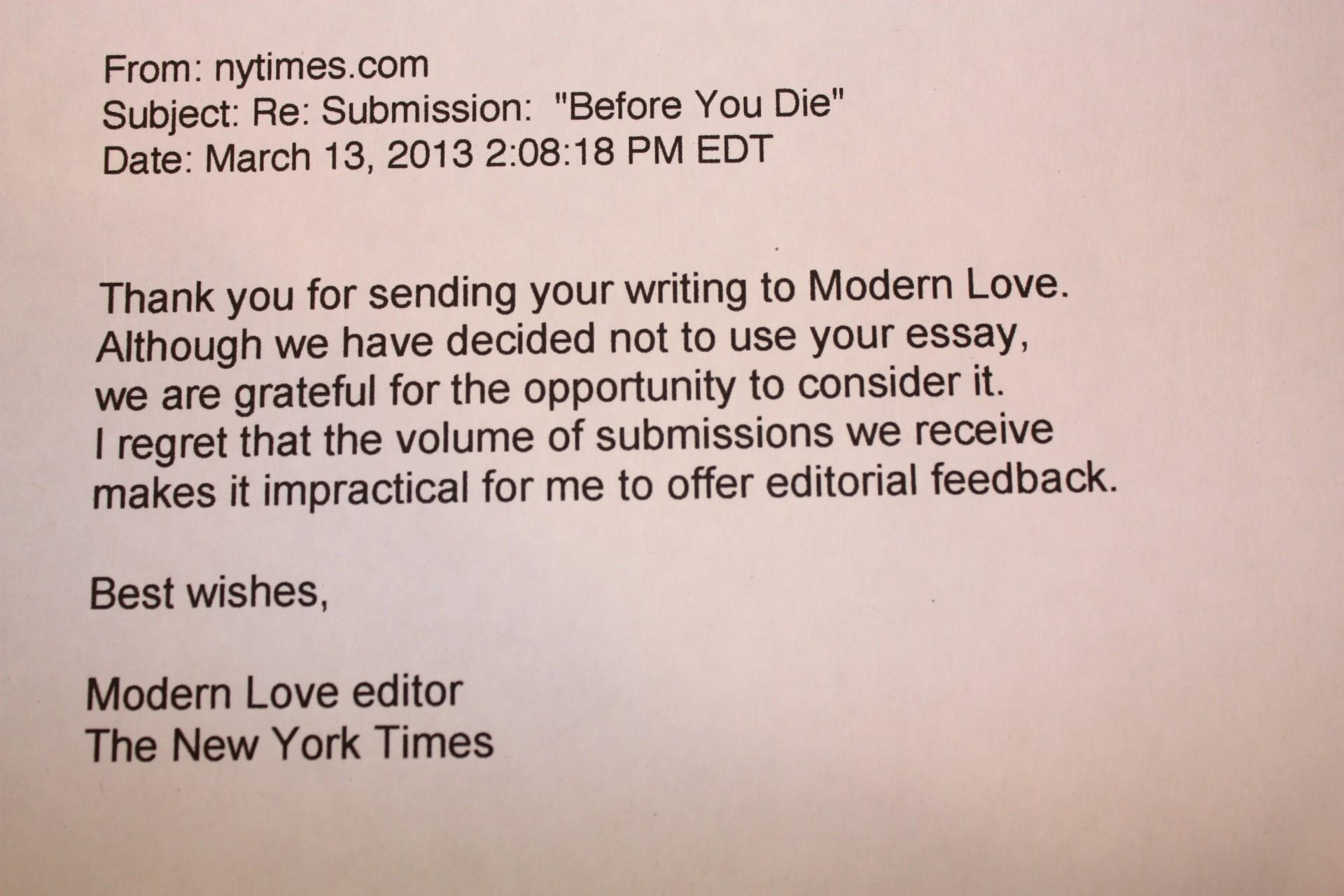 008 Essay Example Img 1382 Modern Love Phenomenal Essays Contest Winner Amy Rosenthal 1920