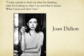 008 Essay Example Joan Didion Singular Essays On Santa Ana Winds Collections