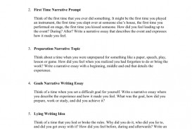008 Essay Example Narrative Prompts 008000920 1 Fascinating Writing 5th Grade Common Core 4th