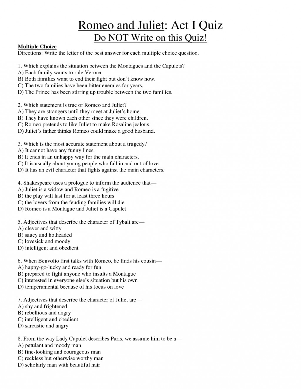 008 Essay Example Romeo And Juliet Fantastic Prompts Prompt Who Is To Blame Questions Writing Large