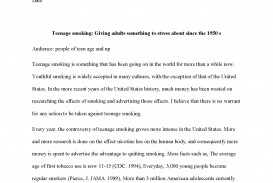 008 Essay Example Teen Smoking Free Sample Page 1 Imposing Editorial Examples For High School Short About Travel