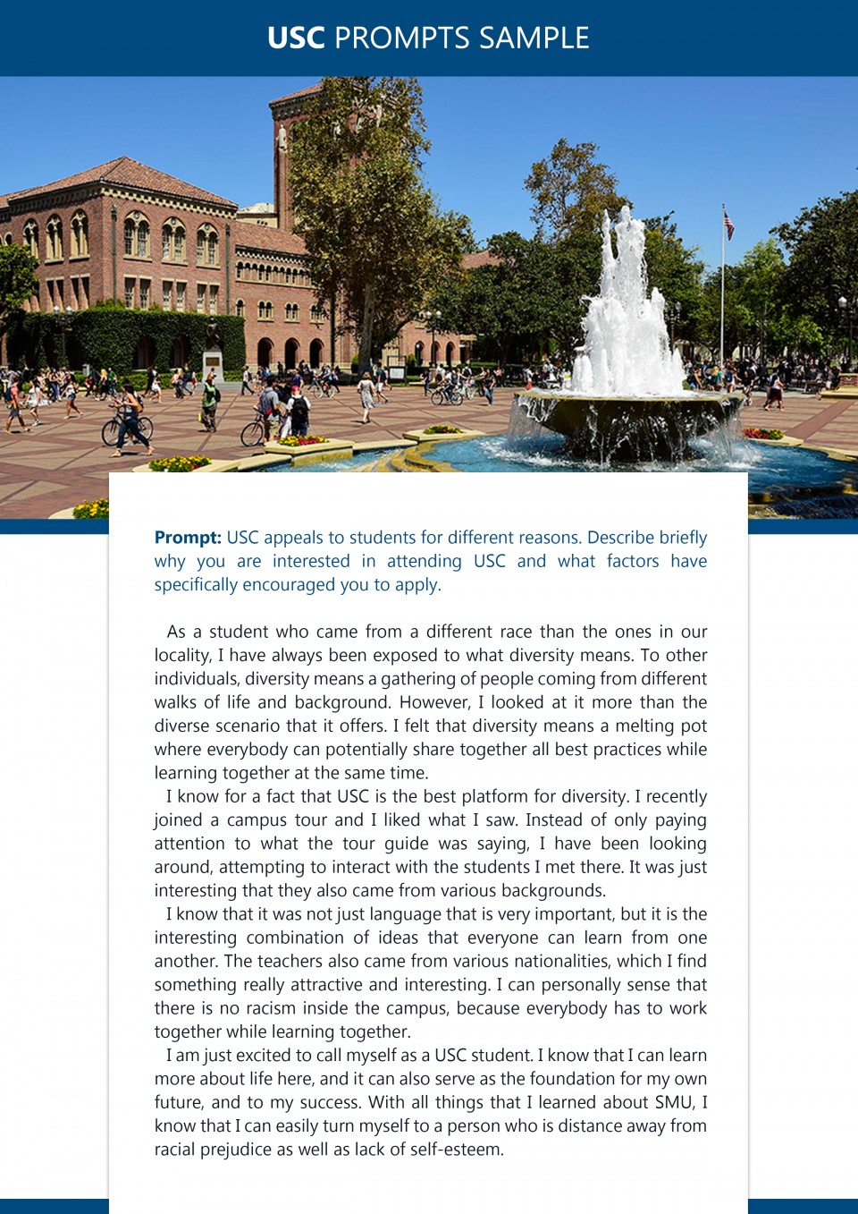 How to Write the University of Southern California Supplemental Essays: Guide + Examples /