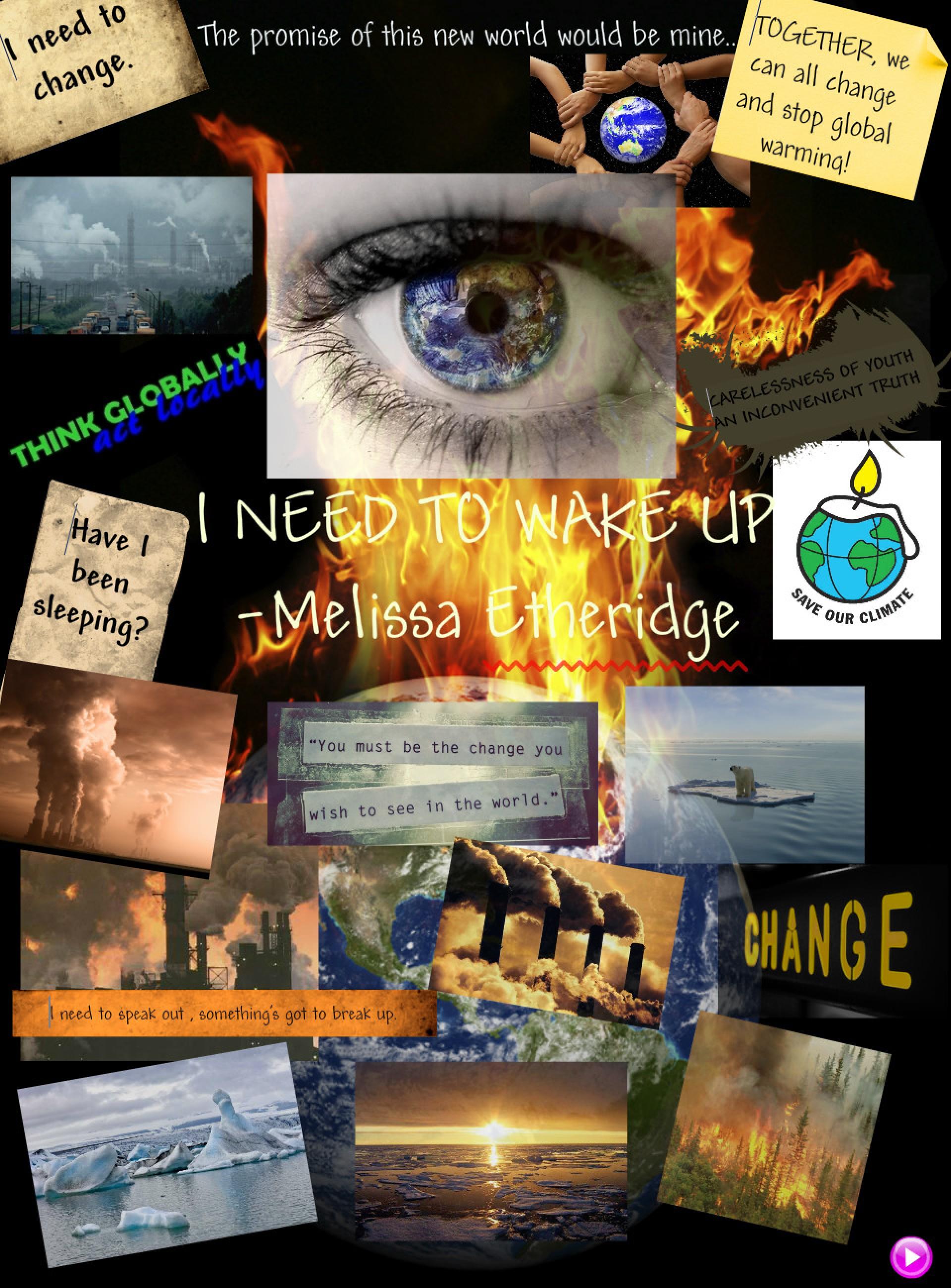 008 Essay Example Visual I Need To Wake Up Melissa Etheridge Verbal Shocking Response Examples Literacy Arts 1920