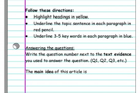 008 Essay Example What Is The Main Idea Of Reads I Pencil Informational Reading Organizer Wonderful