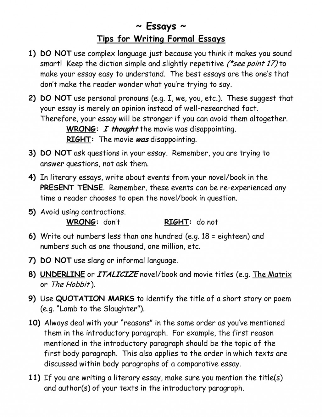 008 Essay Example Write An Unbelievable How To Fast In Exam 6 Hours Large