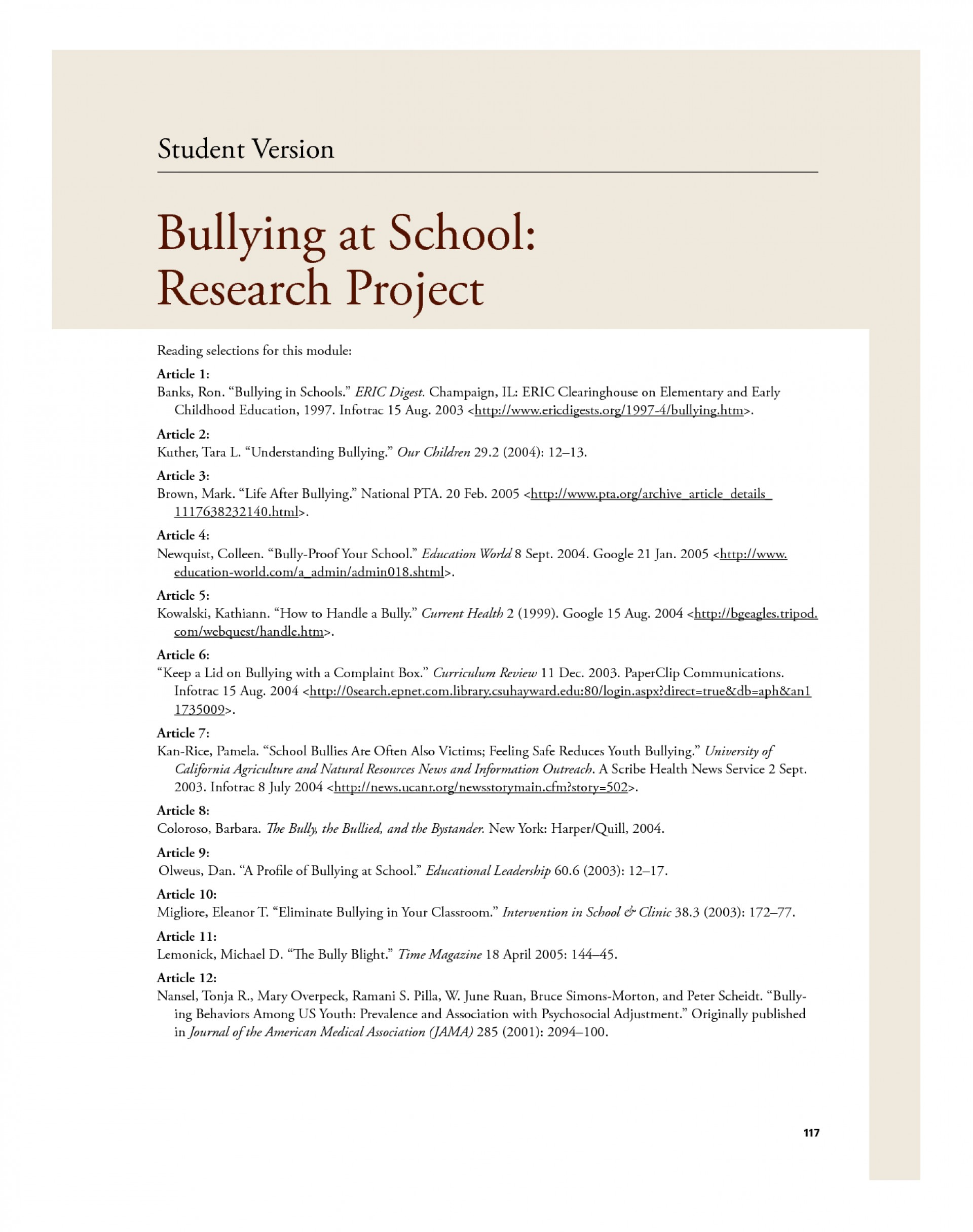 008 Essay On Bullying Essays In School Effects Of The Main Ways To Stop Bvj88 How Avoid At Prevent Spm Deal With High Schools Amazing Cause And Effect Cyberbullying 1920