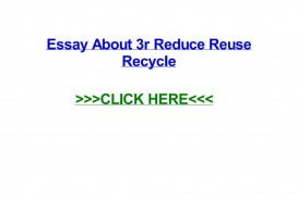 008 Essay On Reduce Reuse Recycle Example Page 1 Stirring Short In Hindi English