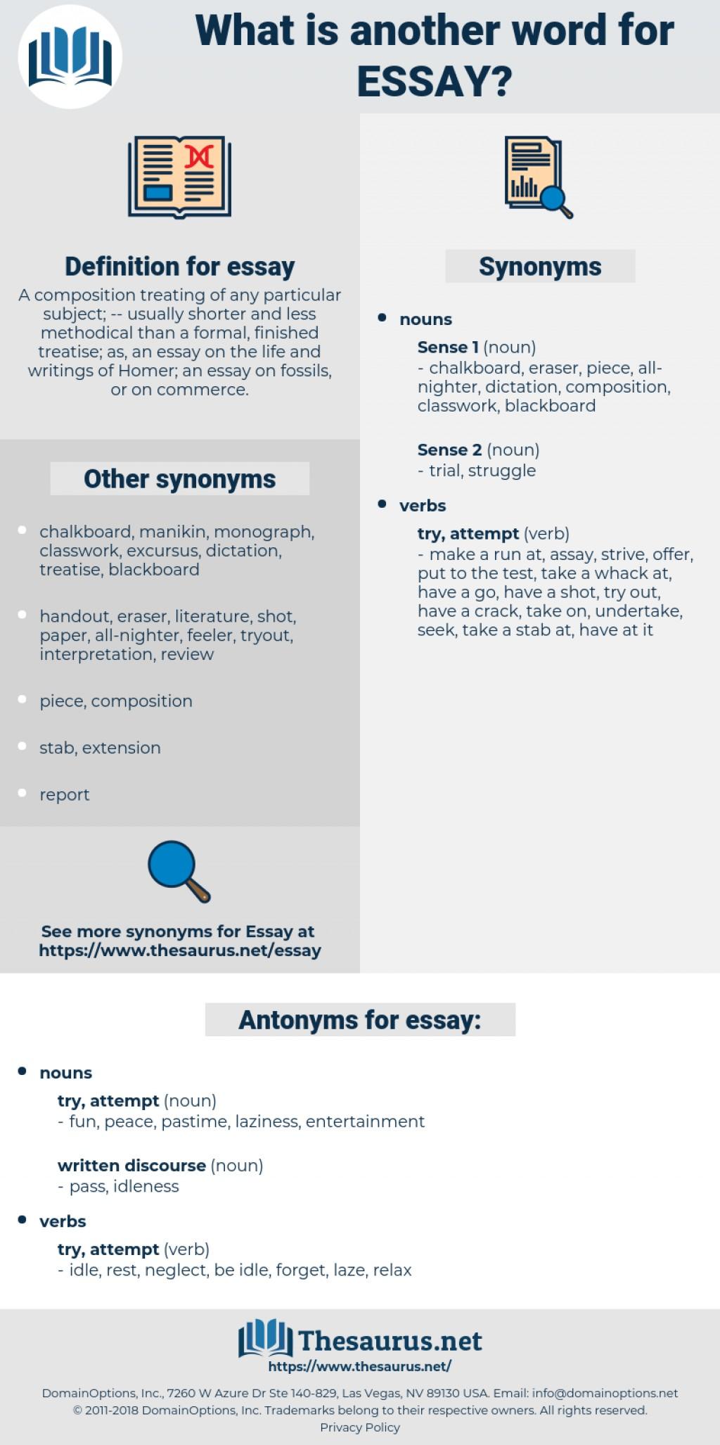 008 Essay Synonym For Frightening Words Essayistisch Because Large