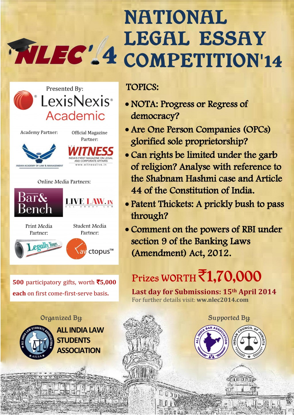 008 Essay Writing Competitions In India Custom Paper Academic Competition For College Students P Topics Contests Imposing 2014 Maryknoll Contest Winners Large