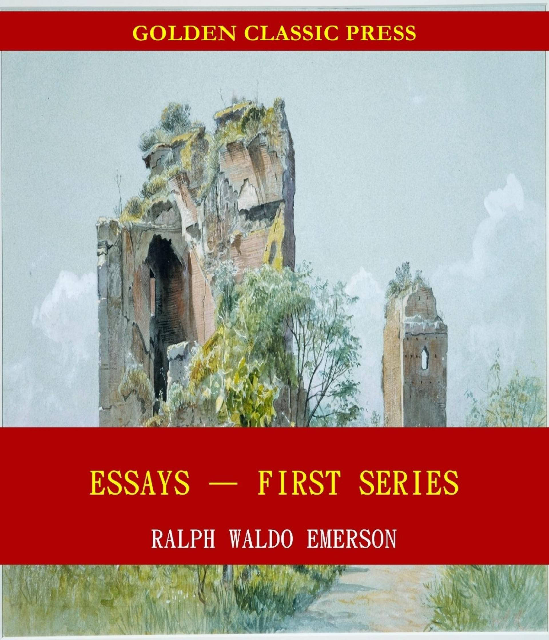 008 Essays First Series Essay Example Stunning Emerson Pdf Shelburne Publisher 1920
