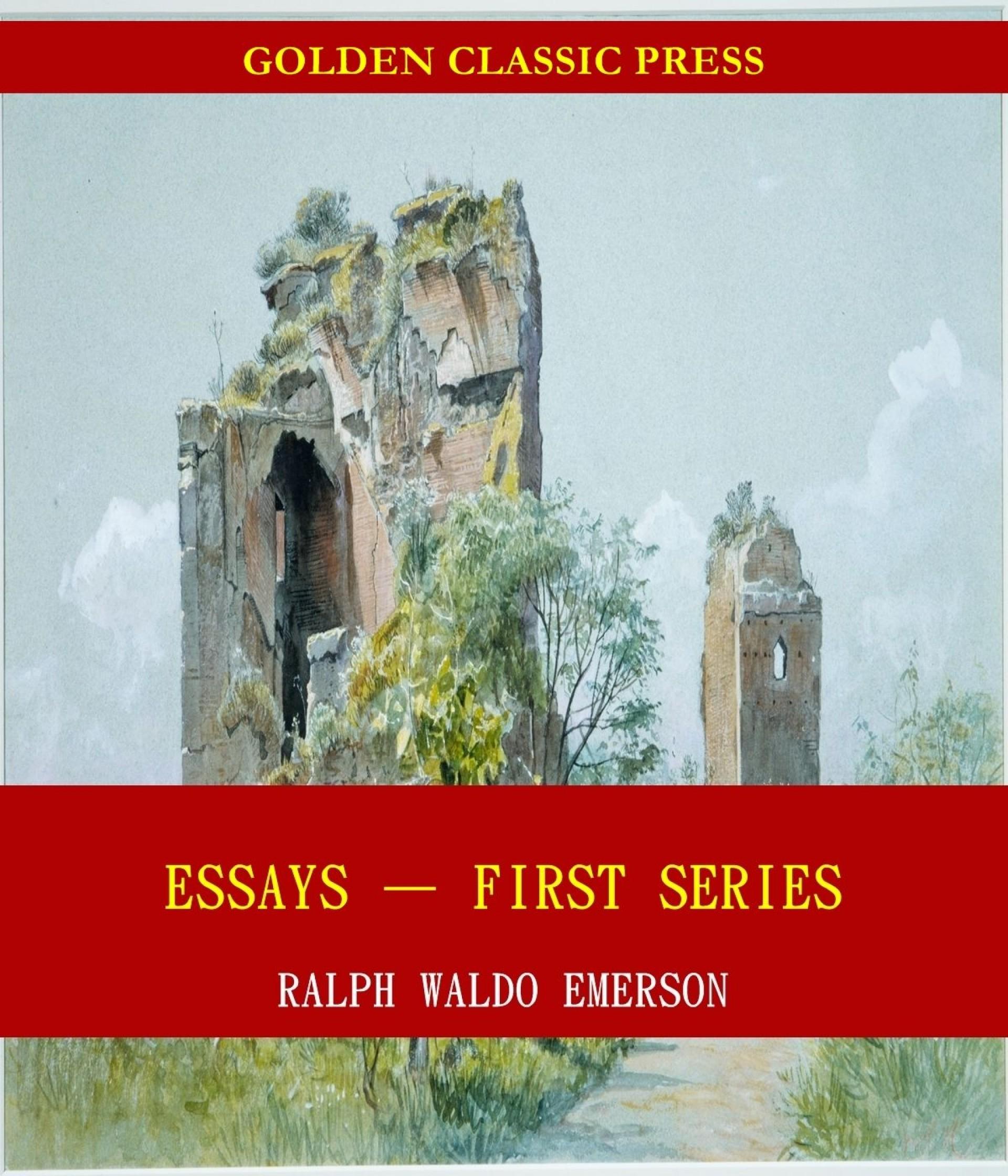 008 Essays First Series Essay Example Stunning In Zen Buddhism Emerson's Value 1920