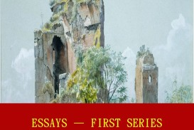 008 Essays First Series Essay Example Stunning Emerson Pdf Shelburne Publisher