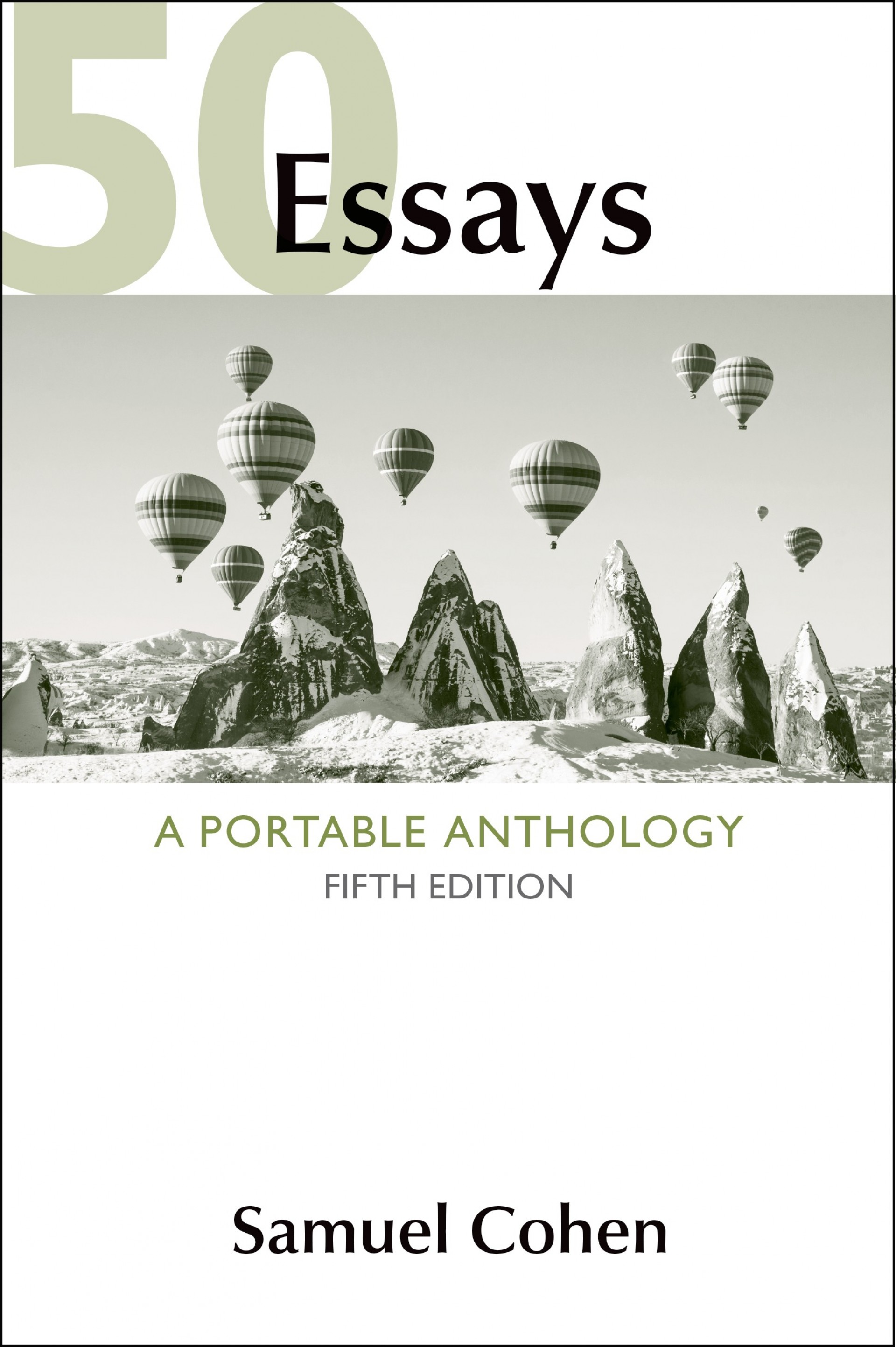 008 Essays Table Of Contents Essay Example Best 50 A Portable Anthology 4th Edition Great 1920