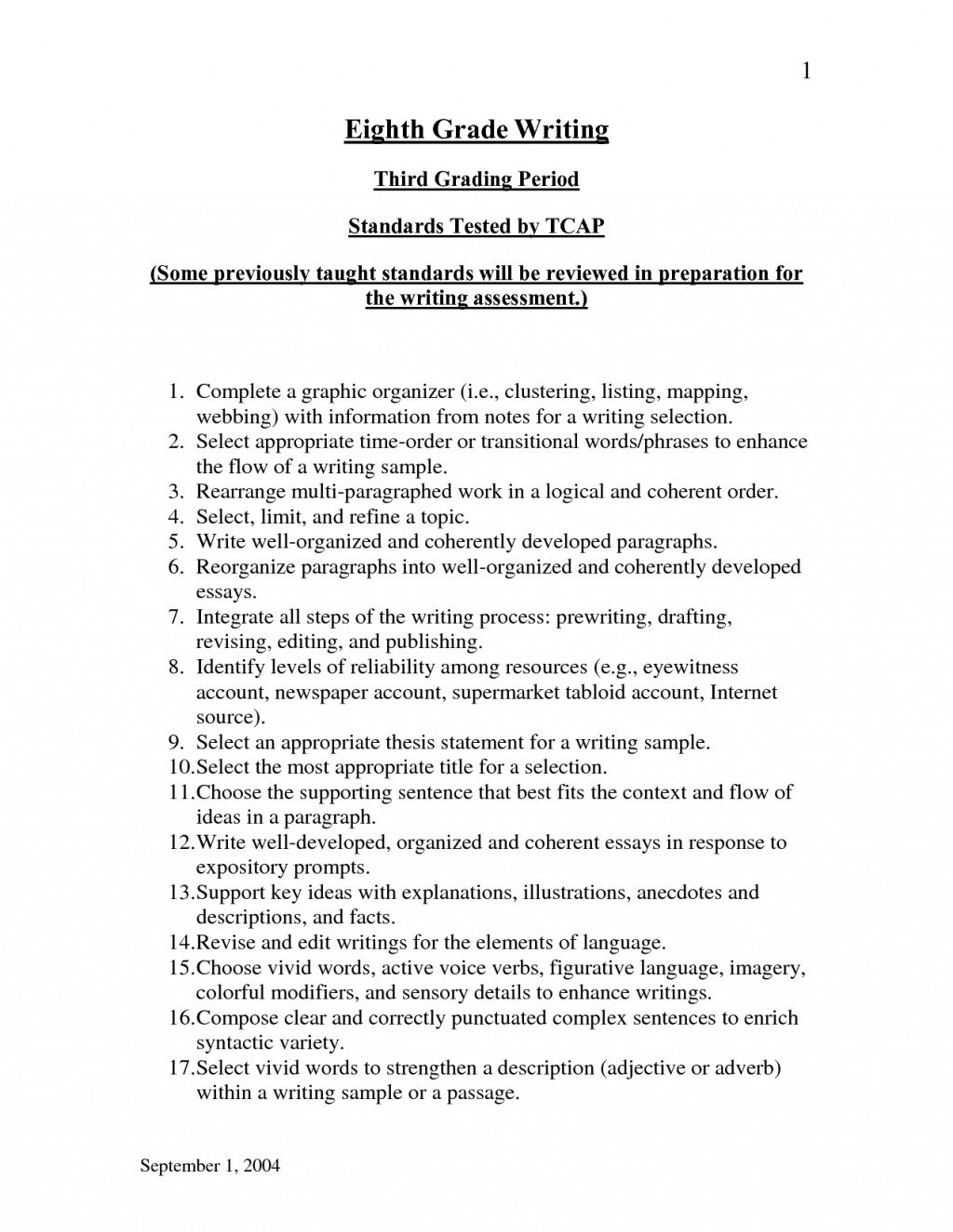 008 Expository Essays 1341145155 Essay Help Stunning Just The Facts Topics Rubric 4th Grade Large