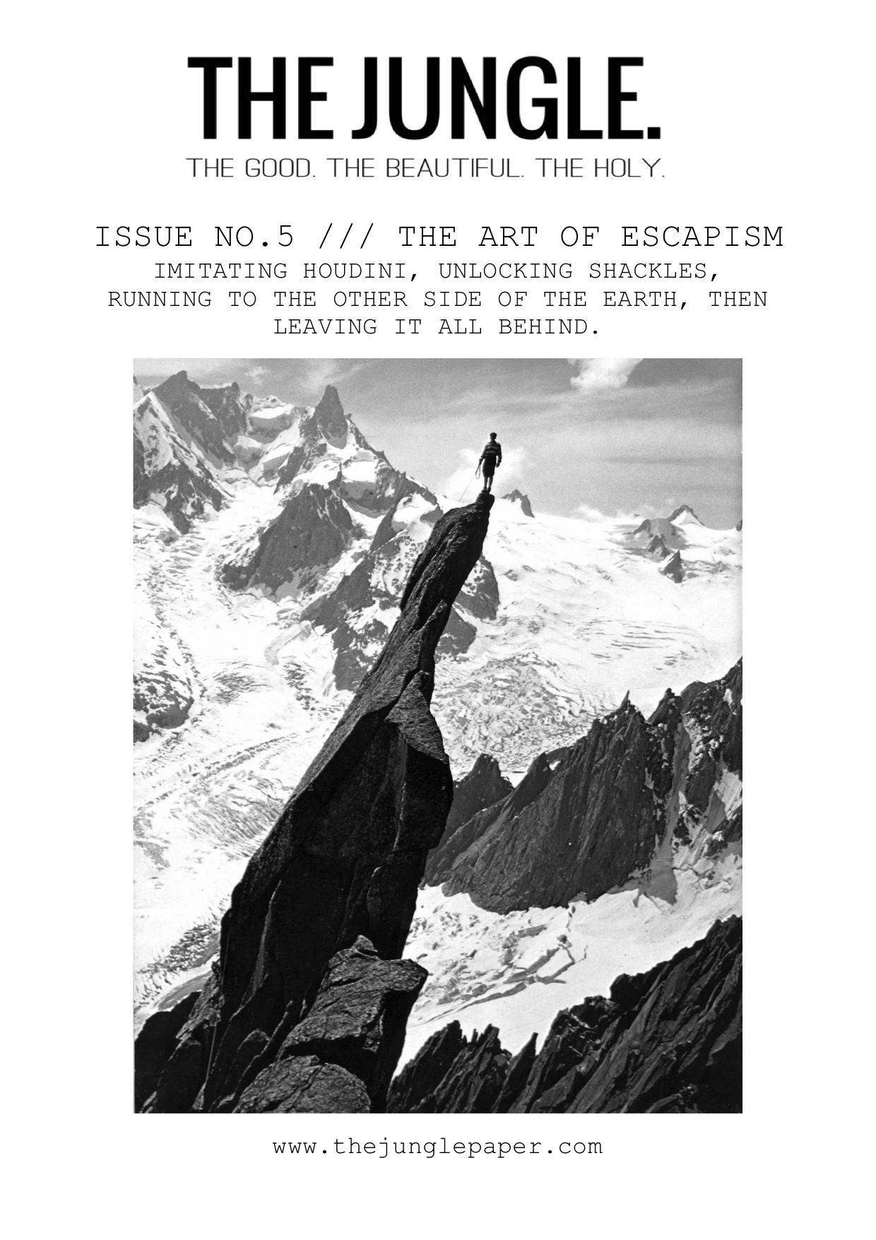 008 Front Cover Issue The Art Of Escapism Essay Example Jungle Upton Sinclair Book Rare Review Full