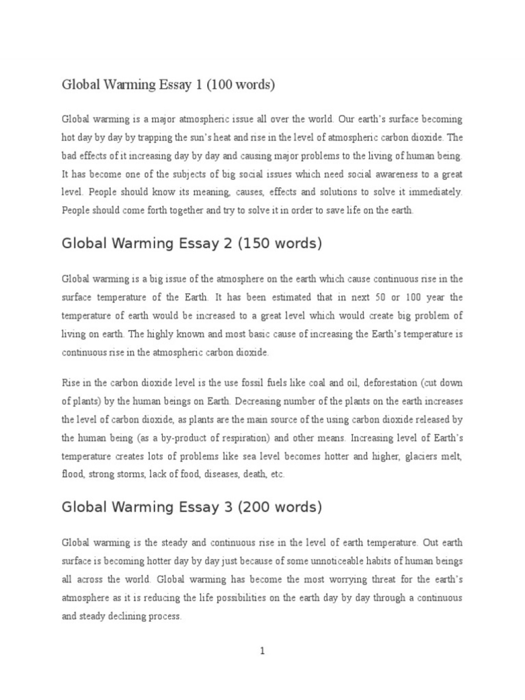 008 Global Warming Essay 1 5882e593b6d87f85288b46ba Unusual Paper Outline Catchy Titles For Ielts Band 9 Large