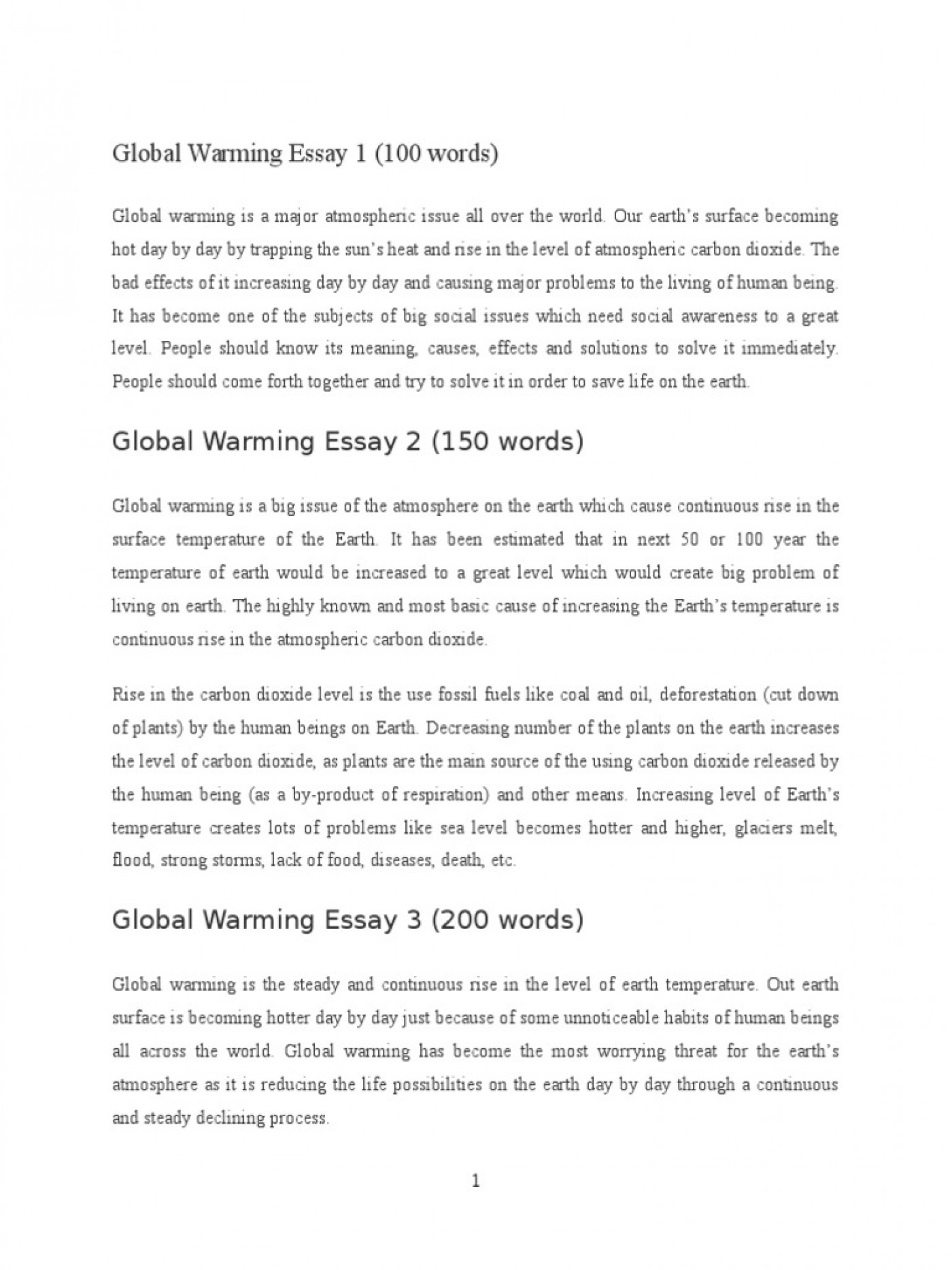 008 Global Warming Essay 1 5882e593b6d87f85288b46ba Unusual Paper Outline Catchy Titles For Ielts Band 9 1400