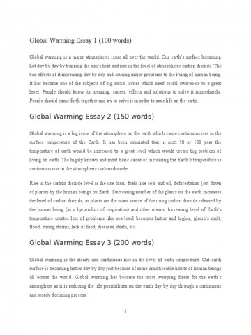 008 Global Warming Essay 1 5882e593b6d87f85288b46ba Unusual Hook Conclusion Outline 360
