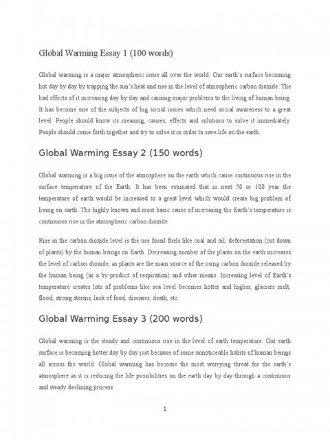 008 Global Warming Essay 1 5882e593b6d87f85288b46ba Unusual Hook Conclusion Outline 480