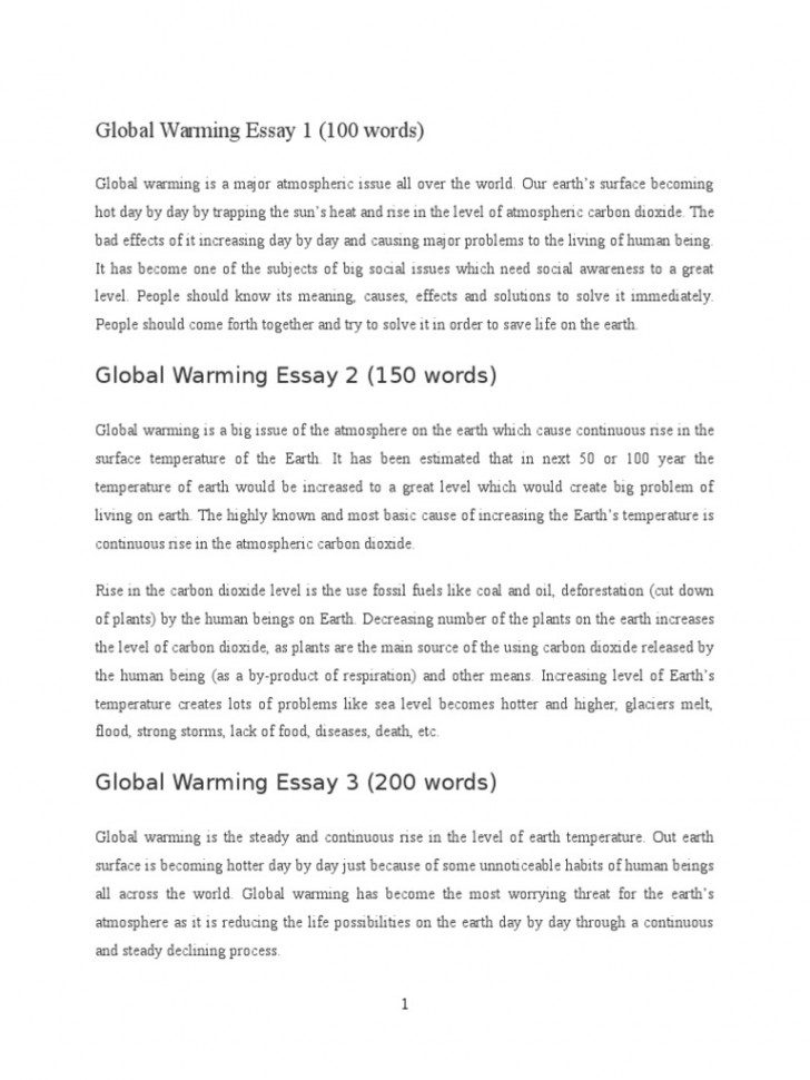 008 Global Warming Essay 1 5882e593b6d87f85288b46ba Unusual Paper Outline Catchy Titles For Ielts Band 9 728