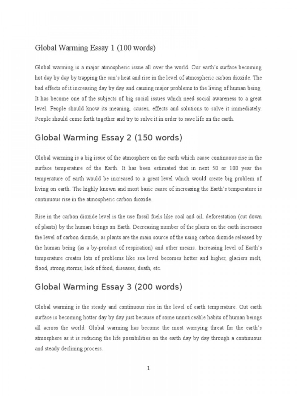 008 Global Warming Essay 1 5882e593b6d87f85288b46ba Unusual Paper Outline Catchy Titles For Ielts Band 9 960