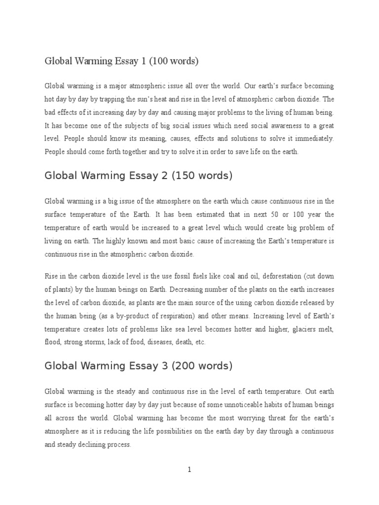 008 Global Warming Essay 1 5882e593b6d87f85288b46ba Unusual Paper Outline Catchy Titles For Ielts Band 9 Full