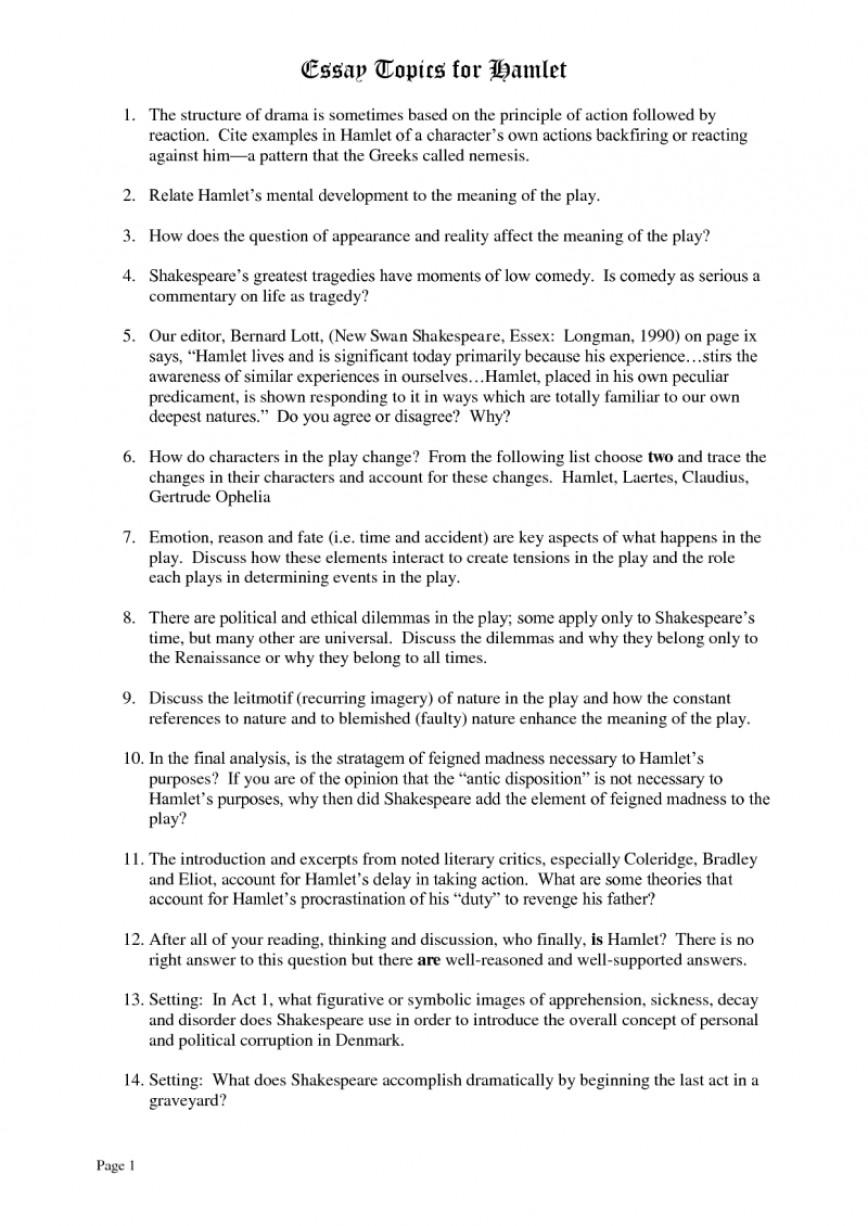 008 Hamlet Madness Essays On 423647resize8002c1130 Stupendous Essay Faking And Ophelia's