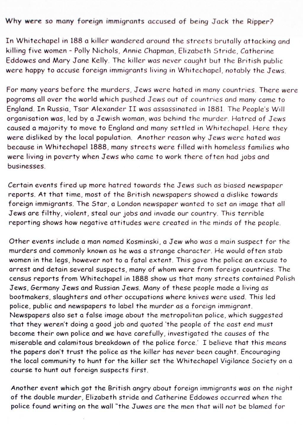 008 History Essay Example History20level207201 120a Tcm8 Beautiful Introduction Pdf A Level Large
