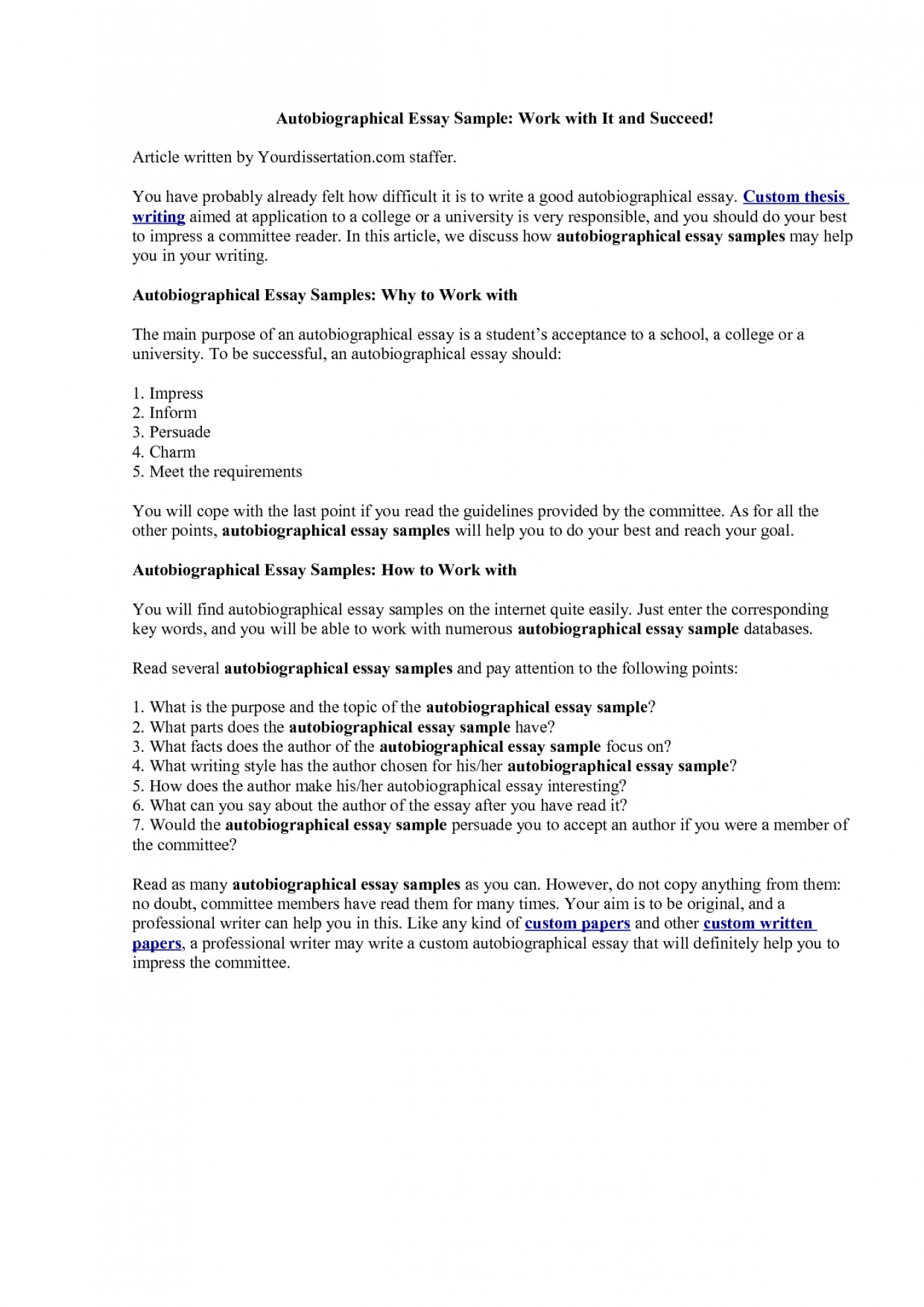 What does expository essay mean