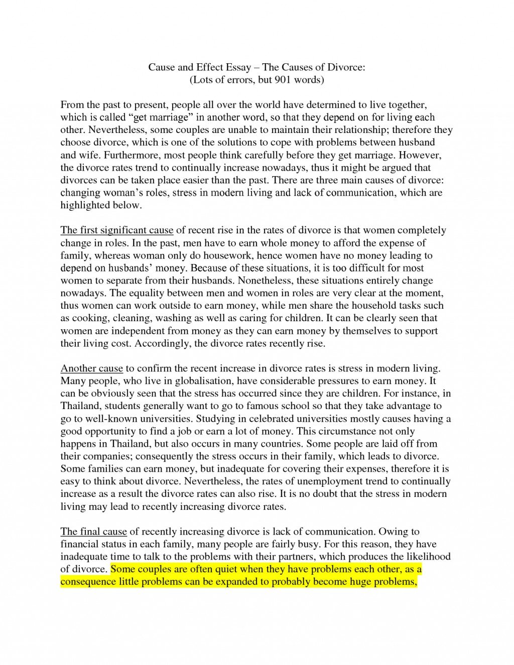 008 How To Start Cause And Effect Essay Brilliant Ideas Of Write Ethics Fabulous The Causes Effectsg Awful A Examples Step By Powerpoint Pdf Large