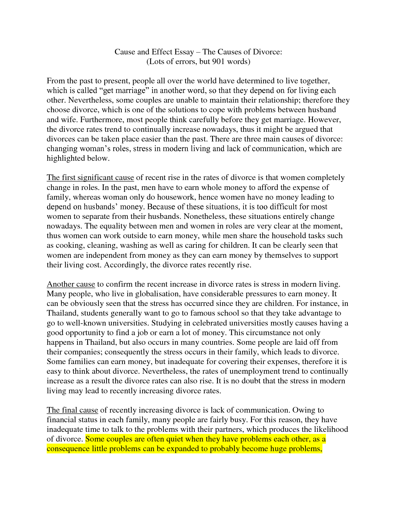 008 How To Start Cause And Effect Essay Brilliant Ideas Of Write Ethics Fabulous The Causes Effectsg Awful A Examples Step By Powerpoint Pdf Full