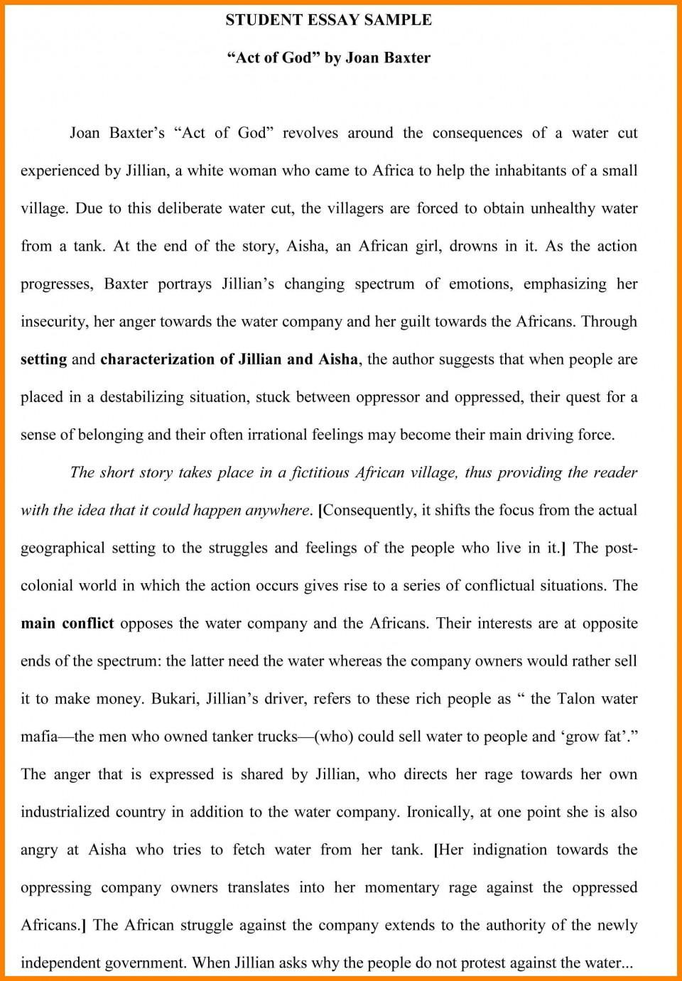 019 Essay Example How To Write Better ~ Thatsnotus