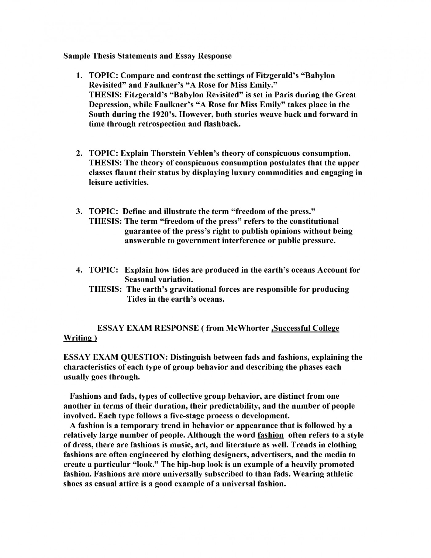 Essays On High School  Essays For Kids In English also Argumentative Essay Thesis Statement  How To Write Thesis Essay Example  Thatsnotus Best Essays In English