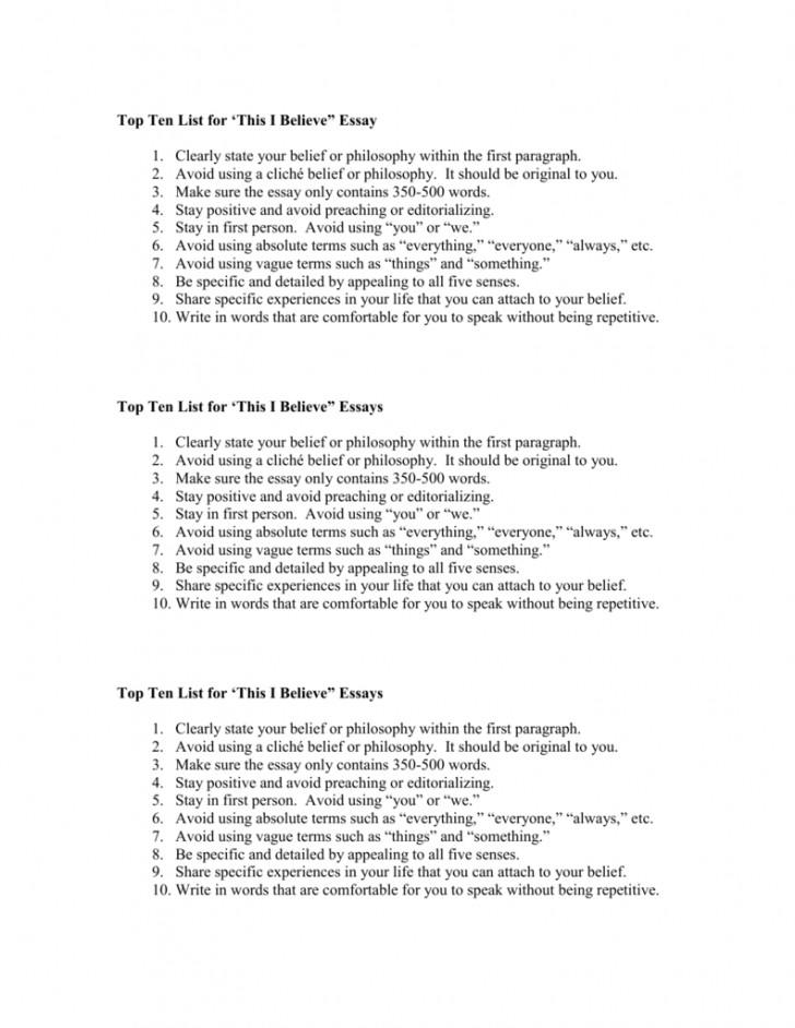 008 I Belive Essays 007293020 1 Essay Surprising Believe About Sports Ideas 728