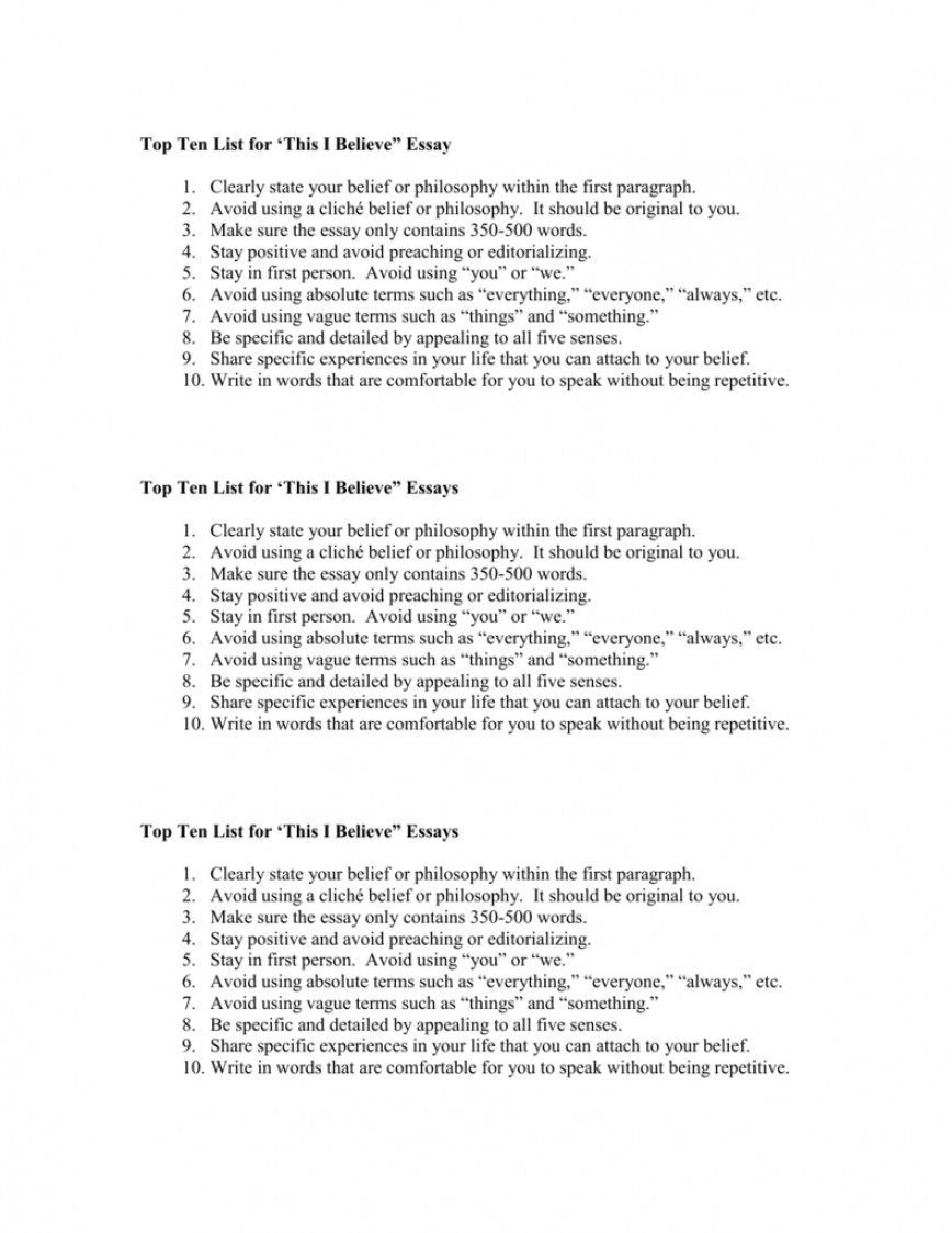 008 I Belive Essays 007293020 1 Essay Surprising Believe About Sports Ideas 868