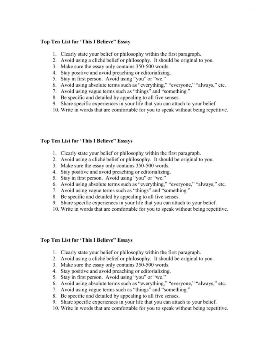 008 I Belive Essays 007293020 1 Essay Surprising Believe About Sports Ideas 960