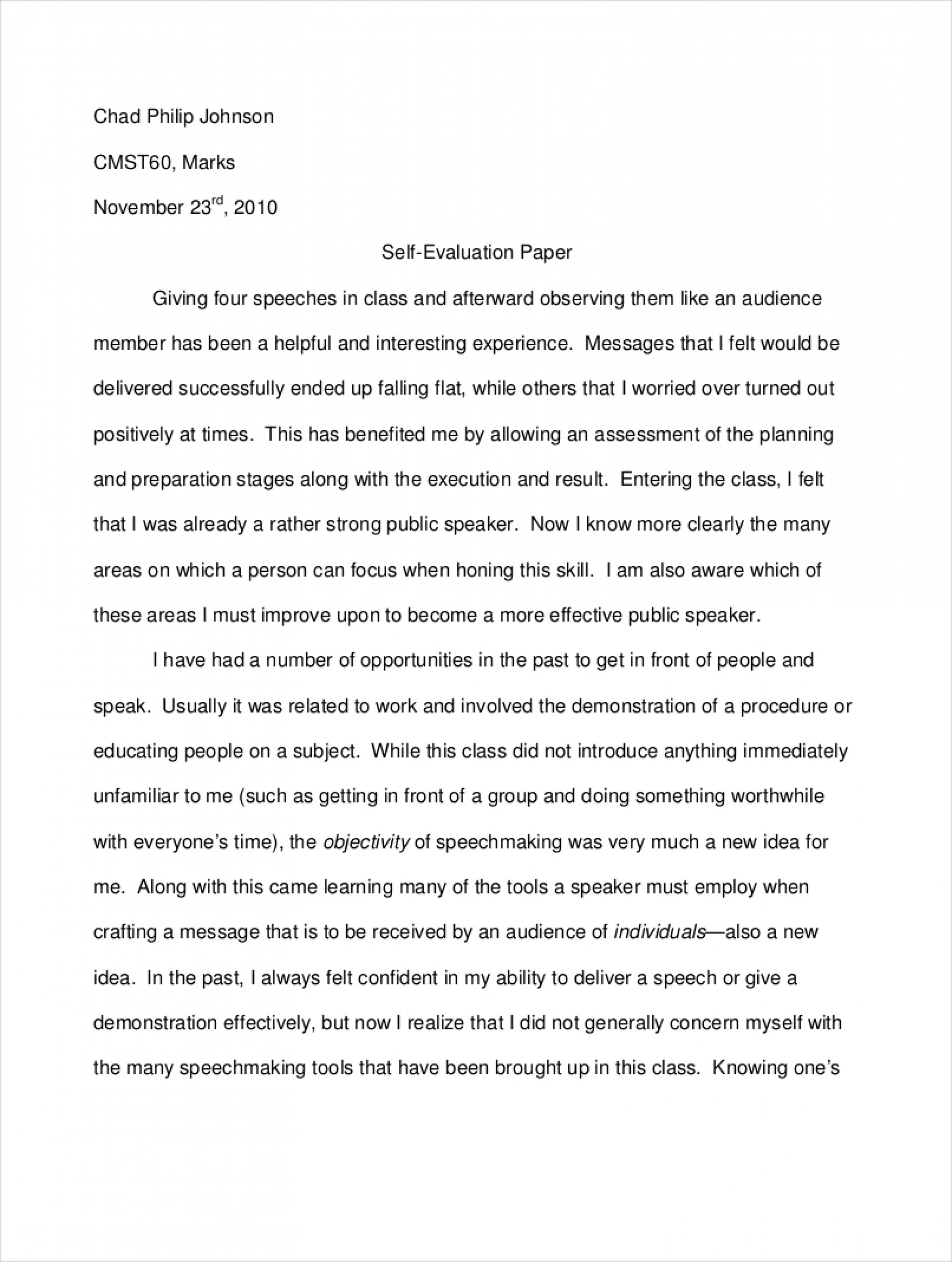008 Ideas Of Examples Evaluation Essayn Example Who Am Amazing I Essay For Students College How To Write A Good 'who I' 1920