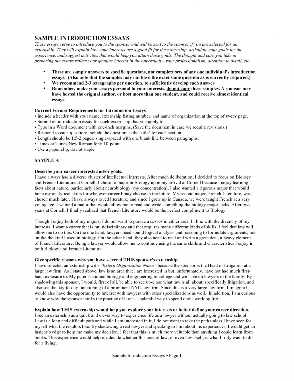 008 Introduction Self Essay About Your Discipline X Jpg How To Write An 8vvv9 Introduce Myself Writing Rare For Job Application Samples Large