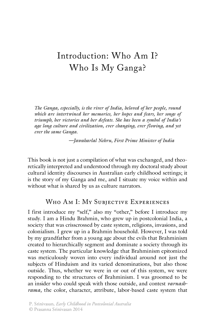 008 Introduction Who Am I Is My Ganga Springer Essay L Stirring Outline Pdf Example Free Full