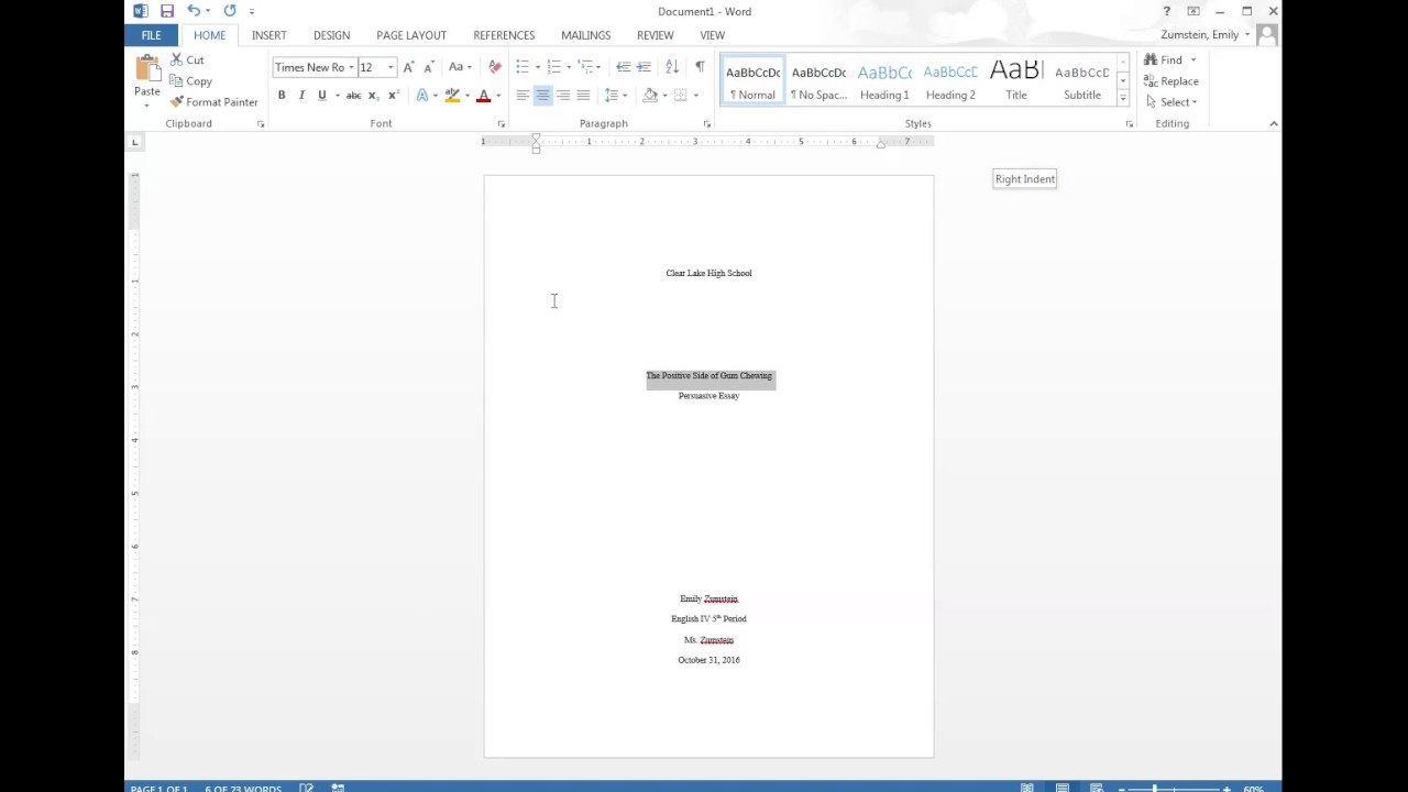 008 Mla Essay Cover Page Maxresdefault Unique Format Front Paper First Full