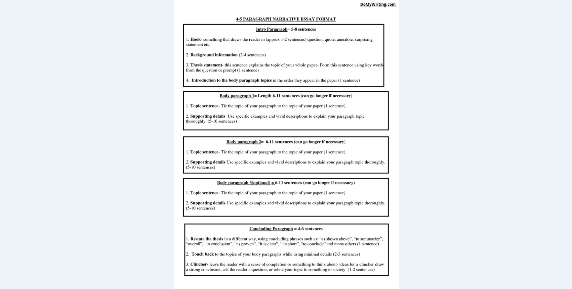 008 Narrative Essay Format Exceptional Rubric Graphic Organizer Outline 1920