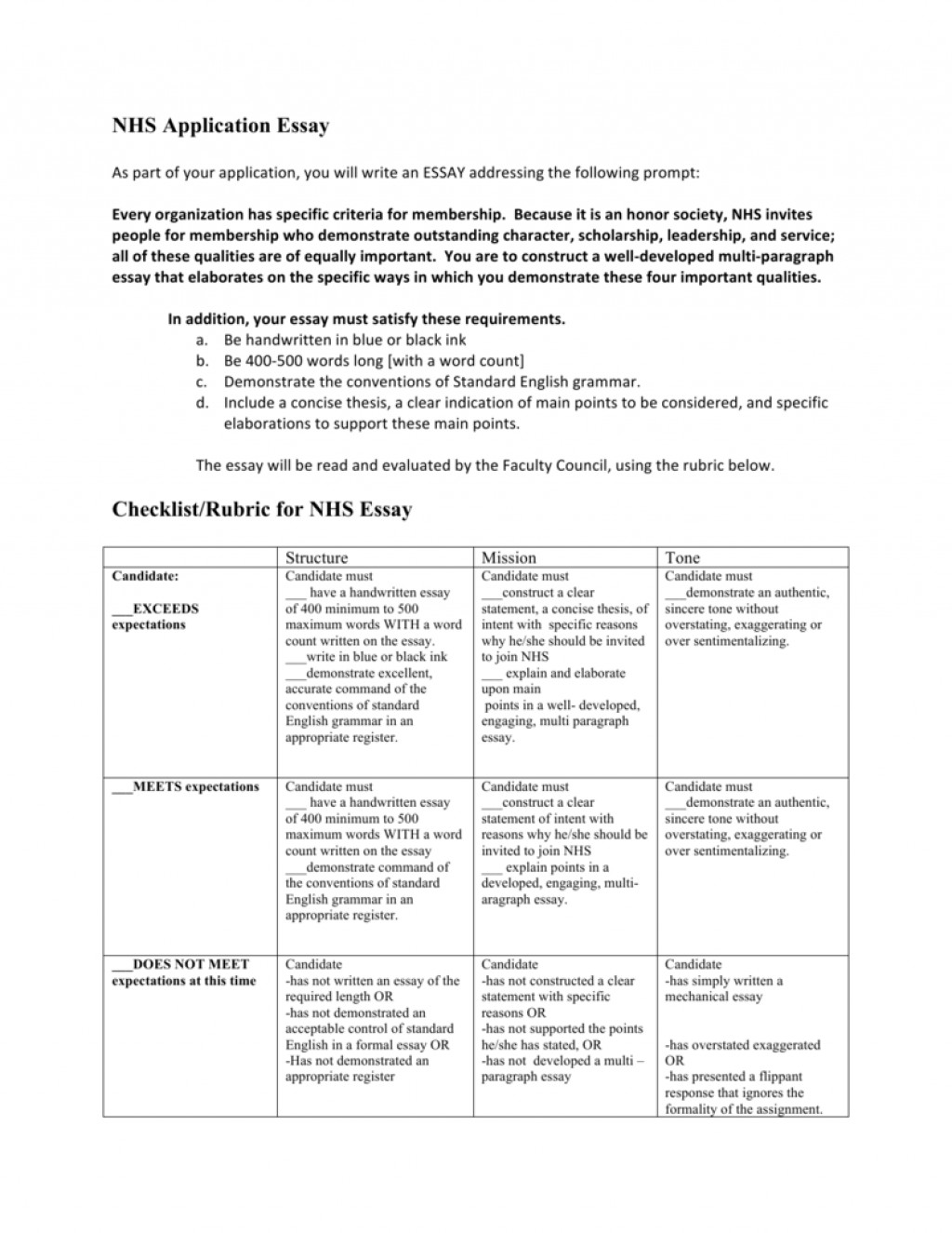 008 Nhs Essay 008112556 1 Stupendous Tips Requirements Prompt Large