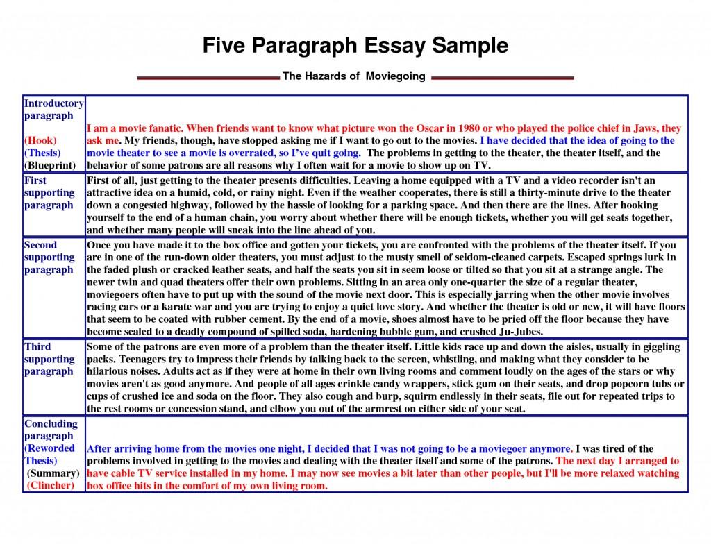 008 Paragraph Essay Sample Example Stirring 5 High School Pdf Argumentative Outline Template Five Large