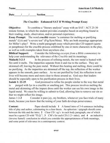 008 Sat Essay Prompts History Practice L Surprising 2015 2017 Prompt June 360