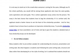 008 Scholarship Essays Help Ways To Make Your Essay Stand Out By Tips For Writing Winning P Effective Singular Rotc Psc Reddit