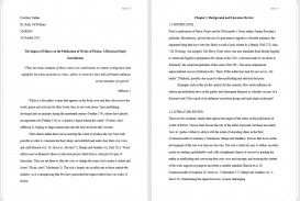 008 Thesis Two Pages Example Full Essay Format Awful Mla Examples Citation Generator Outline Template