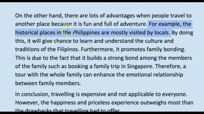 008 Travel Essay Example Unique Definition Photo Examples Submissions 868