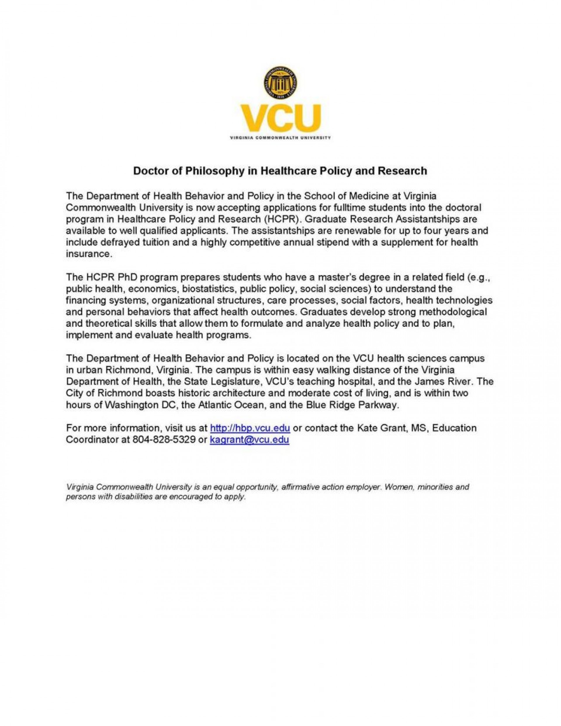 008 Vcu Personal Statement Essay Example Remarkable 1920
