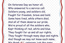 008 Veterans Day Essay Best Examples Sample Contest 2017