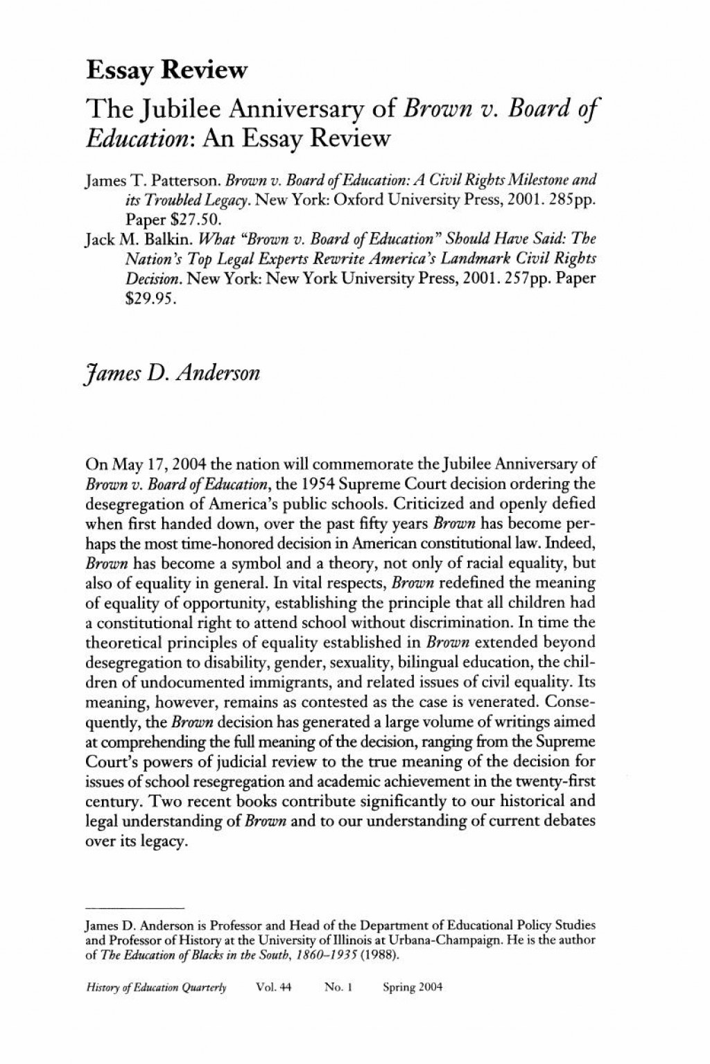 008 Why Brown Essay Example Firstpage Outstanding Supplement Us University Large